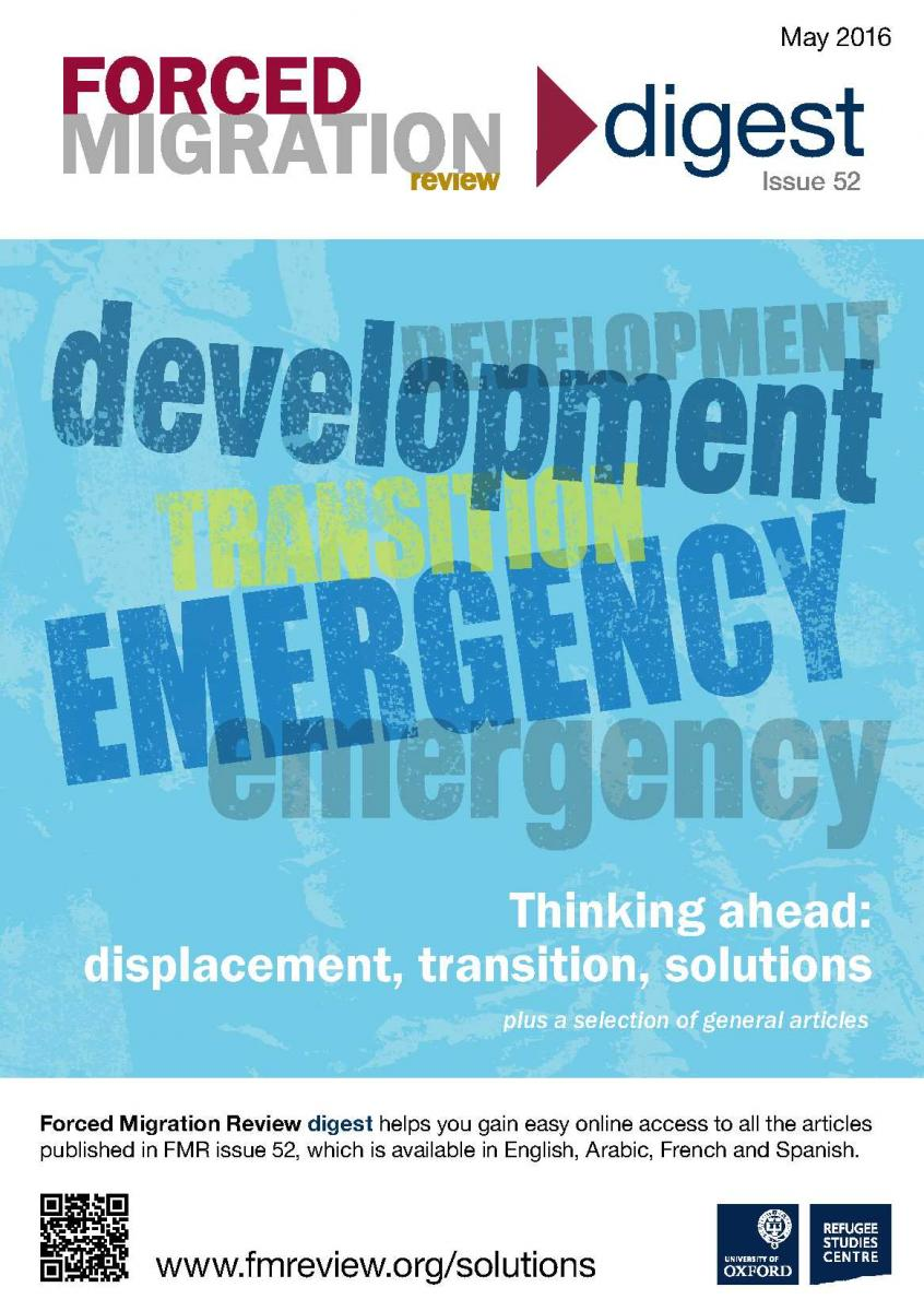 thinking ahead displacement transition solutions